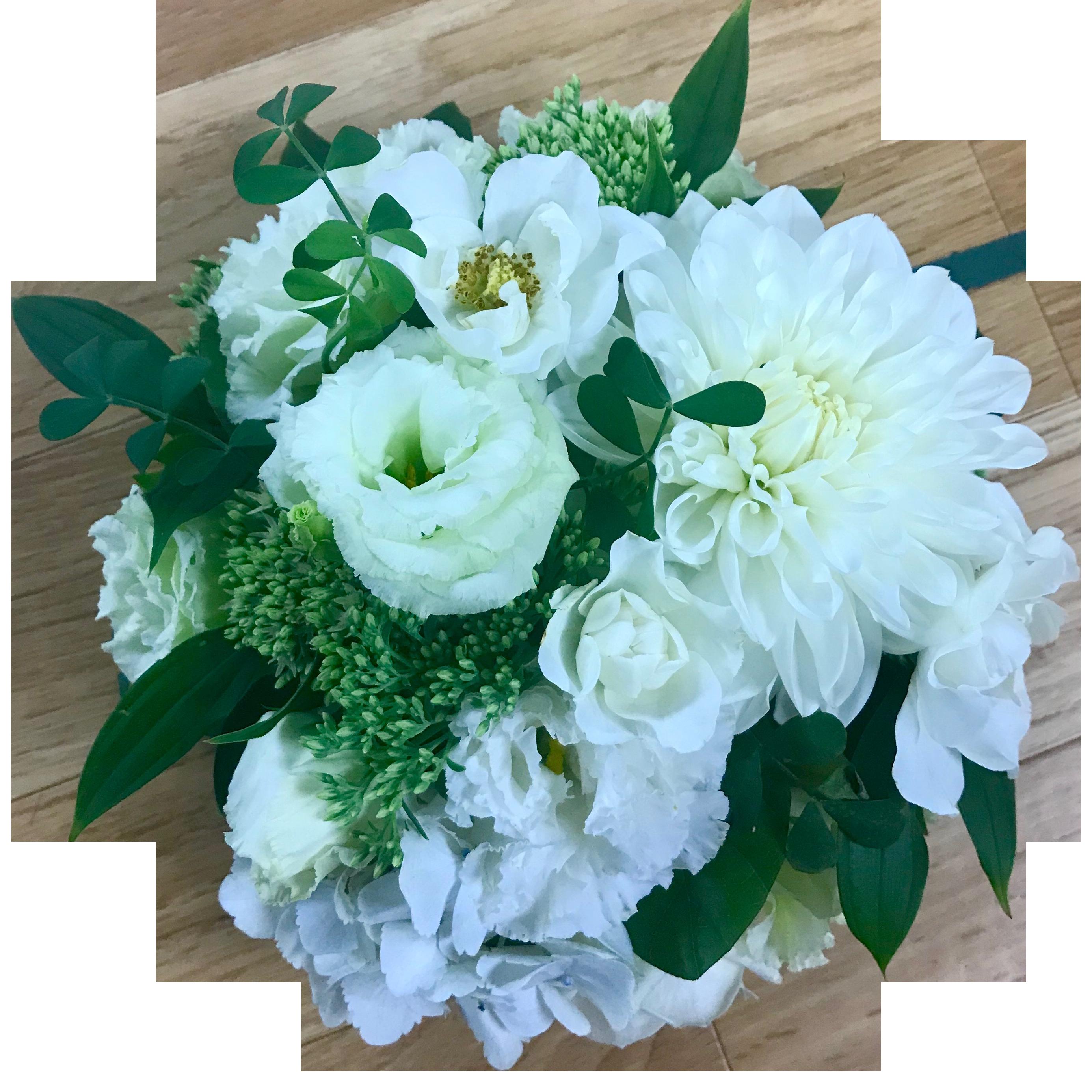 Table bouquet samplebirdseye